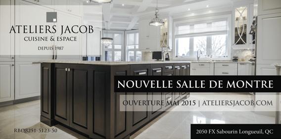 Bob lachapelle design graphique communications site web for Atelier jacob cuisine